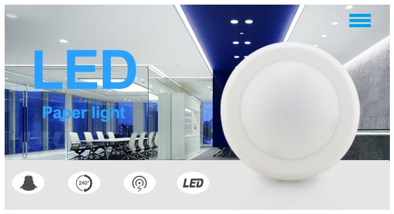 LED Disk Down Light