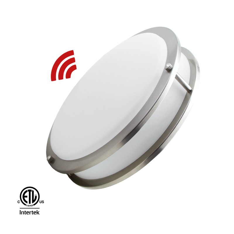 Worbest UL/ES 15W 25W Sensor Led Flush mount Ceiling Light - Motion Sensor DC Series 10